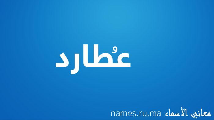 معنى إسم عُطارد