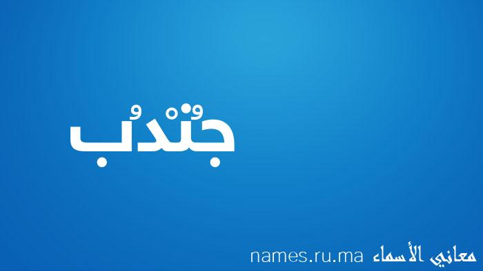 معنى إسم جُنْدُب