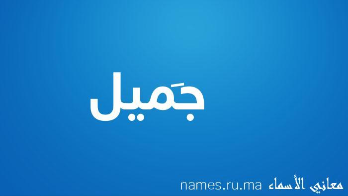 معنى إسم جَميل