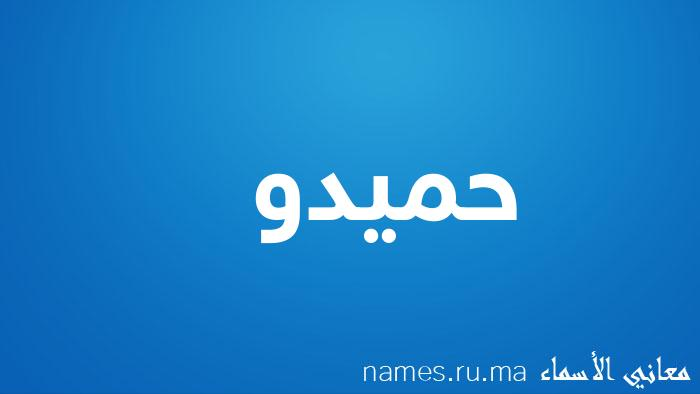 معنى إسم حميدو