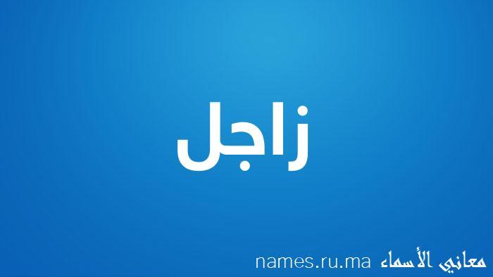 معنى إسم زاجل