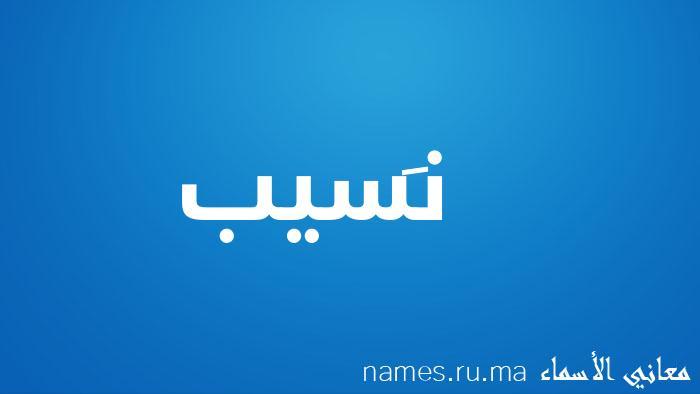معنى إسم نَسيب